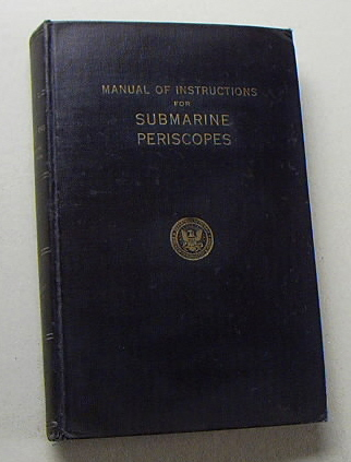 Image for Manual of Instructions for Submarine Periscopes