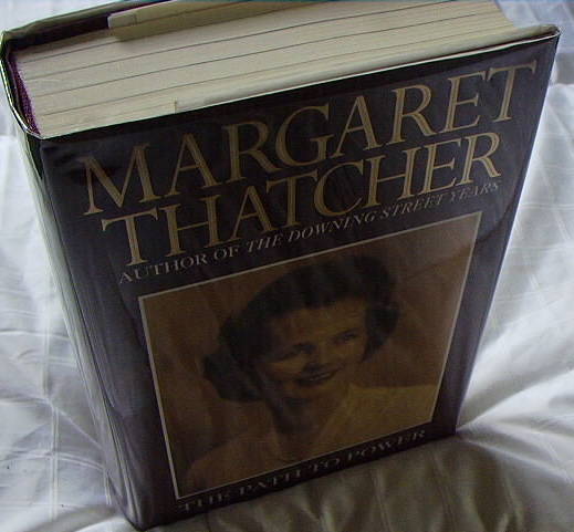 Image for THE PATH TO POWER(SIGNED MARGARET THATCHER!)